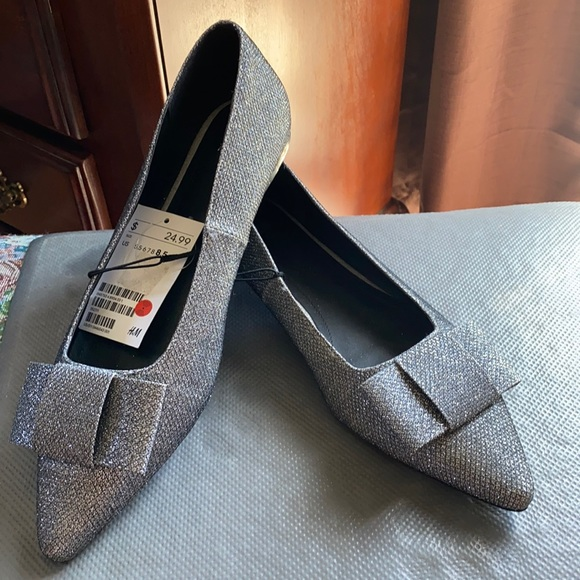 H&M Silver Shoes